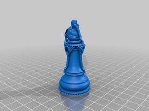 Superman King Chess Piece