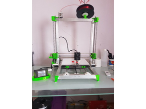 Welded 3d printer