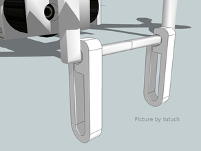 Customizable Landing Extension for DJI Phantom 2