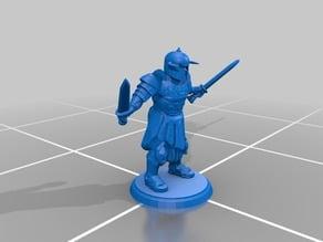 Roman Gladiator - Two Swords - Type 2