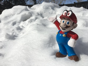 Amiibo Mario with Cappy!