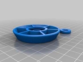 Conical filament spool bearing using BB bullet 50-60