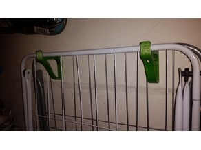 clothes horse holder
