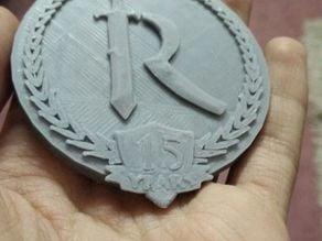 Runescape logo 15 Years