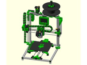 GREEN MAMBA V2.0 DIY 3D Printer