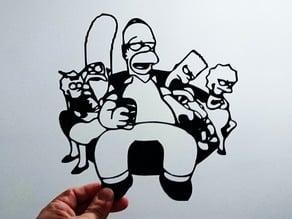 Simpson stencil