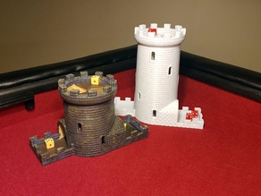 Double Helix Dice Tower