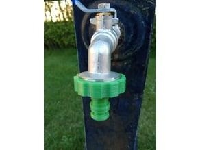 """Garden hose coupler 1"""" pulgada"""