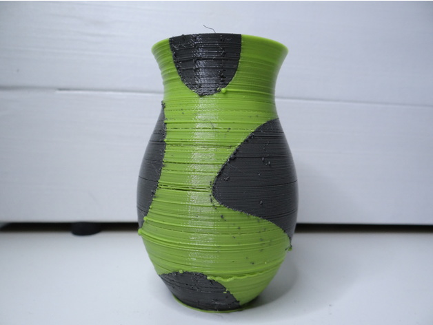Dual Color Vase By Nikodembartnik