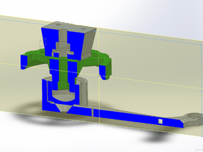 FSR holder with bed regulation, for heated beds