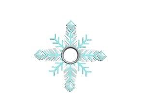Snowflakes-leaf
