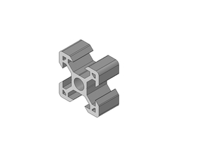 A collection of V Slot / Open Build library parts in Design Spark Mechanical file format