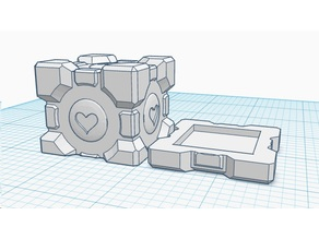 Magnetic Companion Cube