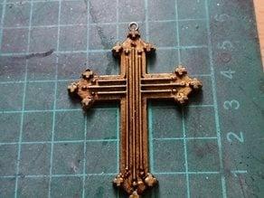 Angelica Teach Crucifix (Pirates of Caribbean)/ Crucifijo Angelica Teach Piratas del Caribe