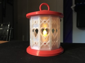 Heart Lantern for Simple Modular Tea Light