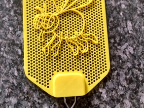 Fly Swatter With Fly Decal