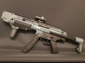 "H&K Mp5 Tactical Swordfish Striker ""PorkChop"""
