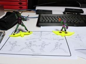 Green Goblin glyder / Aile volante Bouffon Vert