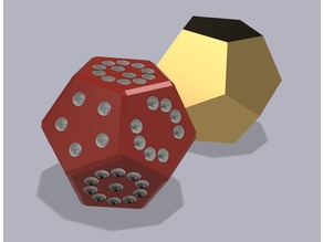 Twelve sided dice - lose twice as much money in half the time!