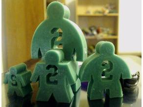 Numbered Meeples