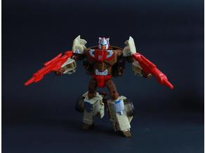 Transformers TR Chromedome gun