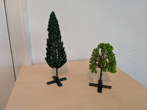 O Scale Tree Stand for D&D