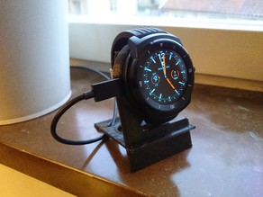 LG G watch R / Urbane charging device holder - Simple, quick print