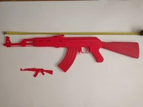 AK 47 Split No Supports
