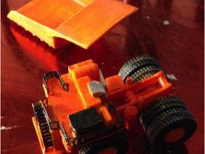 Komatsu 930e mining truck 1:250