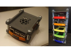 Raspberry Pi rack case or rack cluster