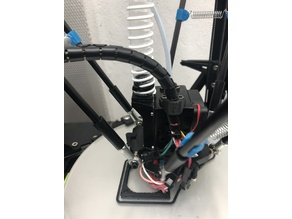 Tube Fan Adapter Anycubic Kossel