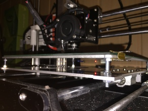Heat Bed Underlayer for Anet A8