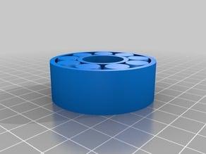 AnySizeBearing - roller bearing/ball bearing fully parametrized