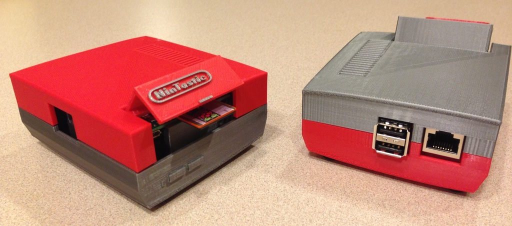 NinTastic - Nintendo Style Case for the Raspberry Pi by tastic007