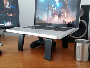 H Laptop Stand