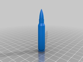 5.56 dummy round high and medium polygon count.