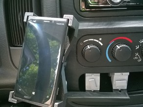 Phone mount for car with shelve