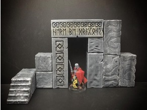 ScatterBlocks: Runic Gateway (28mm/Heroic scale)