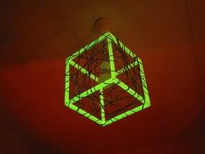 MPF - Meshcube Lamp / Netzwürfel Lampe