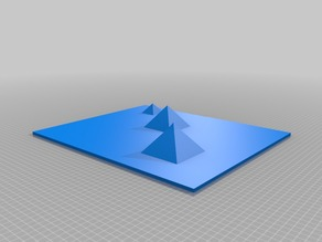 Great Pyramids of Giza - To Scale!