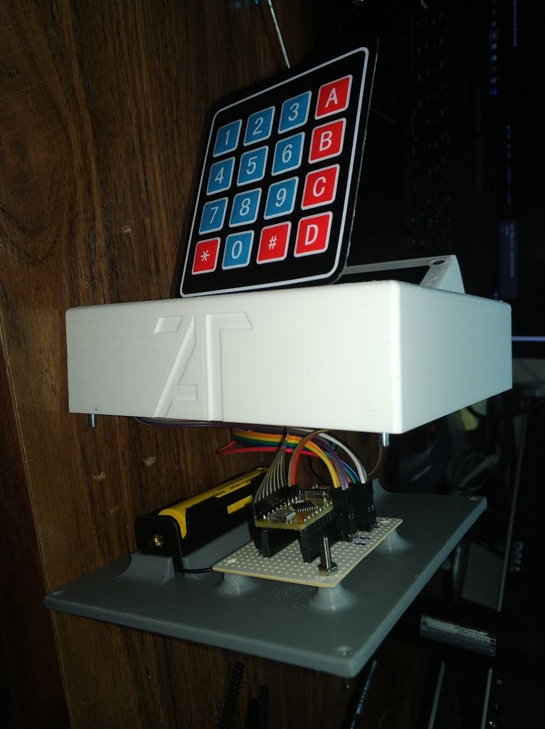 NFC case for arduino and pn532 (A much better one) by