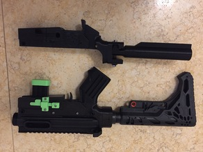 Minimalist AR 15 (PROP / REPLICA) Lower (PART 4)