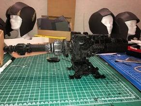 Giant Gun Turret / 28mm SciFi Naval Gun