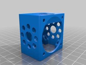 [Remix] Anycubic Kossel E3D v6 / Lite6 Cage