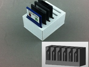 SD Card Holder with Springs
