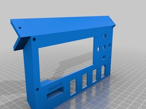 LCD bracket (with micro SD and switch)