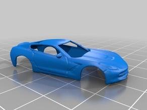 Corvette Stingray 1:100 - 3D Scan
