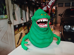 Slimer (nearly full size)