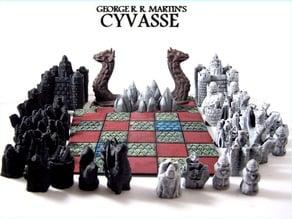 Cyvasse Board (Variant)