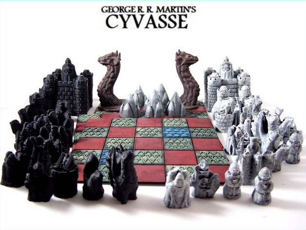 Cyvasse Board (Variant) by dutchmogul - Thingiverse